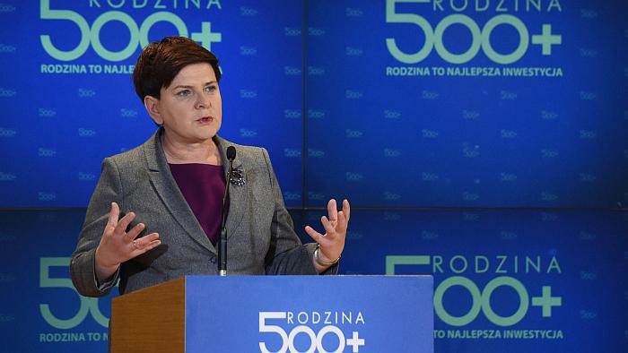 Жльжбета Рафальска рассуждает о польской программе пятьсот плюс
